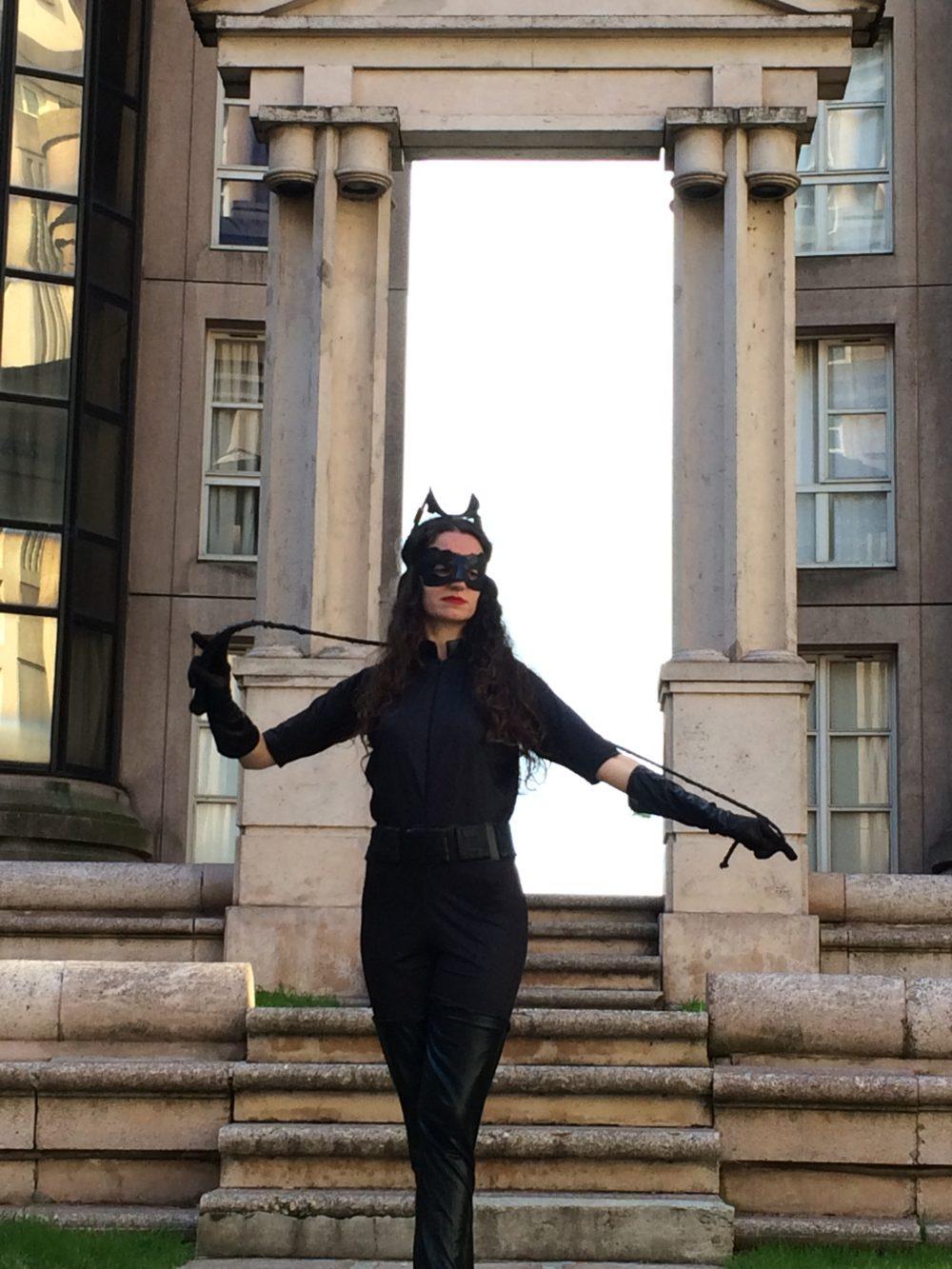 En Catwoman pour