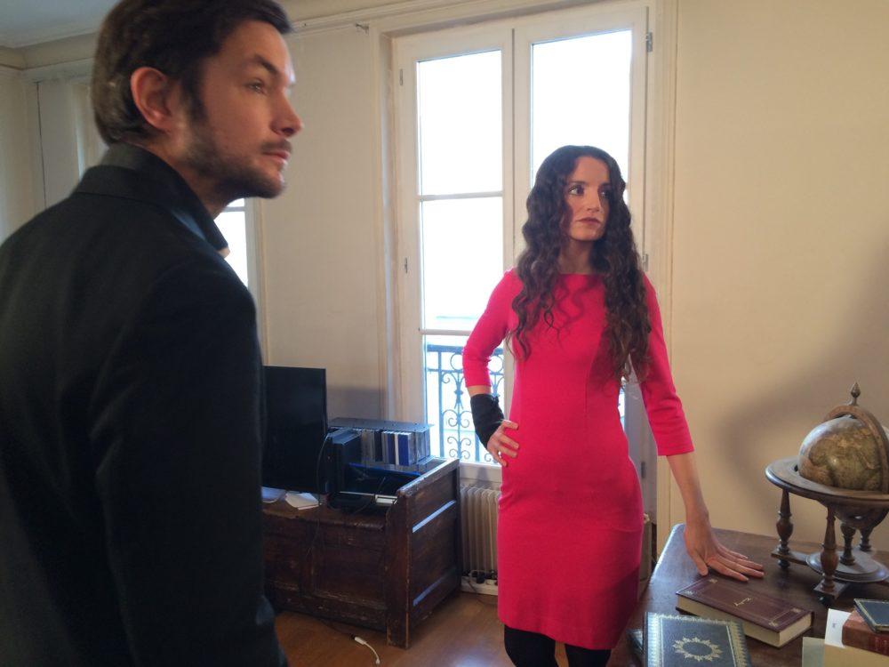 Martel et Gloria - Sur le tournage de